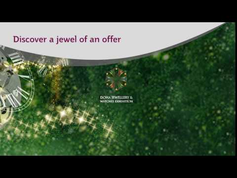 Qatar Airways - Doha Jewellery and Watches Exhibition 2017
