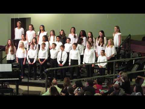 This Little Light of Mine performed by the 5th and 6th Grade Choir