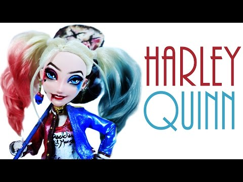 How To Make A Harley Quinn Doll [ SUICIDE SQUAD ]