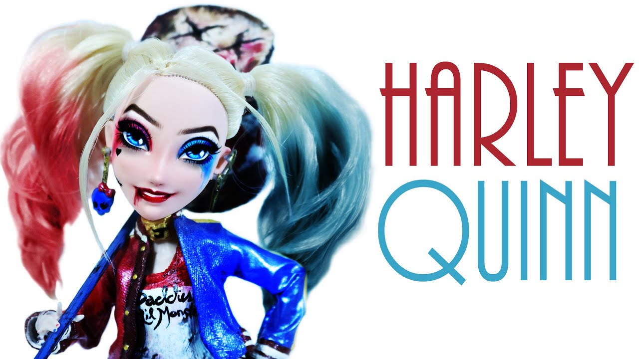 how to make a harley quinn doll suicide squad youtube