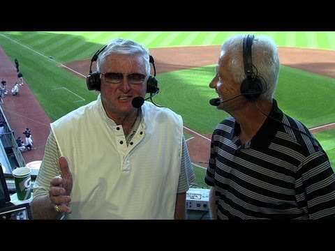 Harrelson opens up broadcast in Portuguese