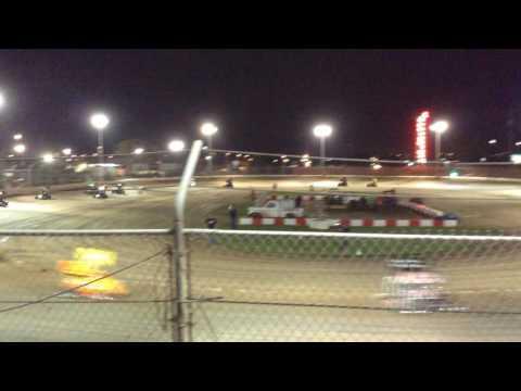 Tanner Whitaker Jr Sprint #75 at Delta Speedway Stockton ca