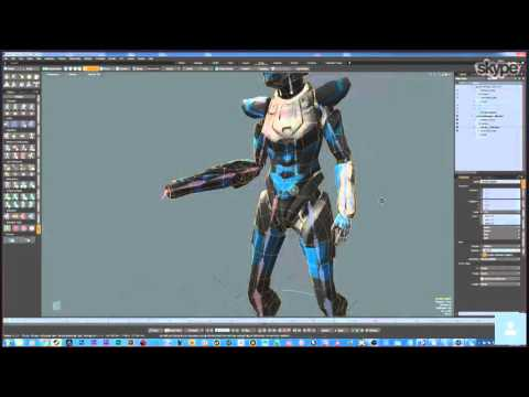 Rigging and animation for Unity; a special presentation part