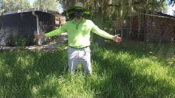 Knee-high Grass Means New Property (And ME) Get A Workout | Lawn Clean Up