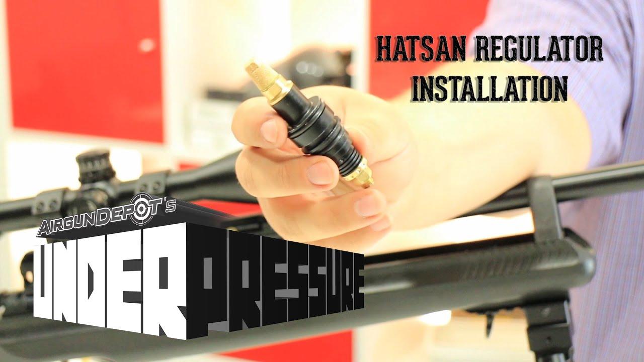 Hatsan AT-44 Regulator Installation