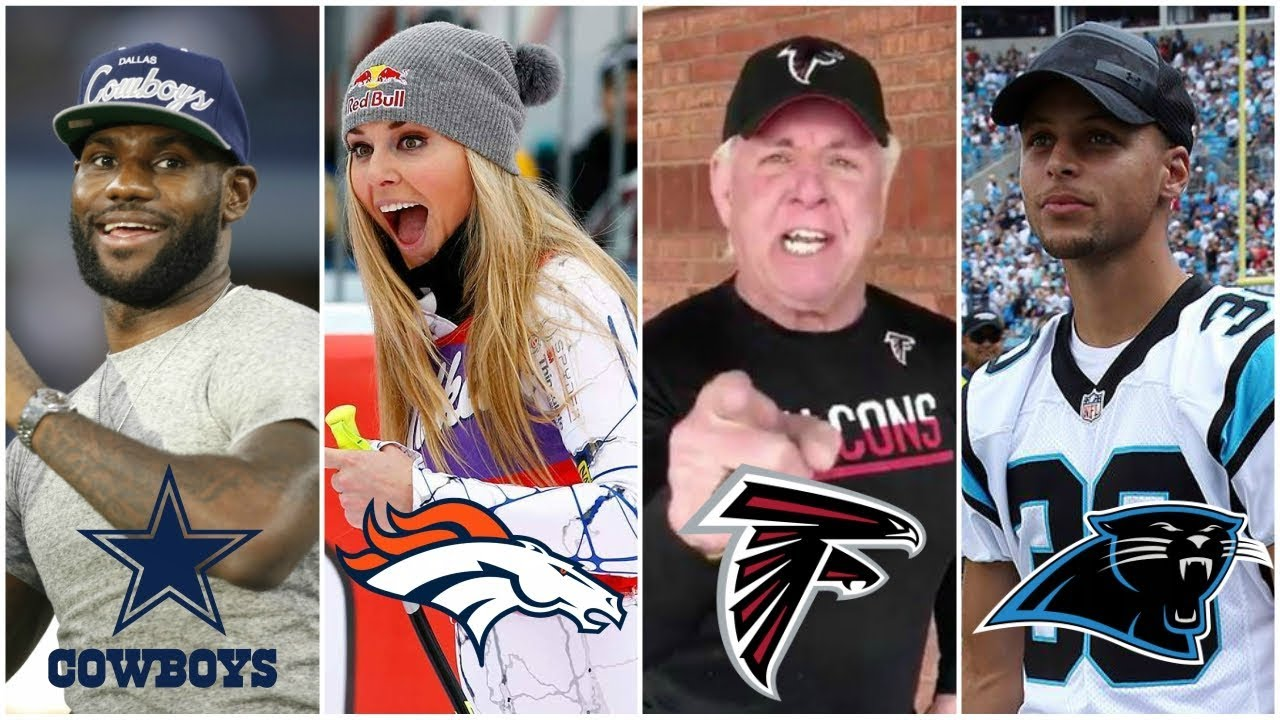 The Biggest Celebrity Fan From All 32 NFL Teams - YouTube