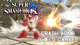 Mega Man Crash Bomb Shield Cancel