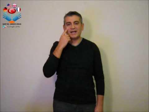 Manzara - işaret dili