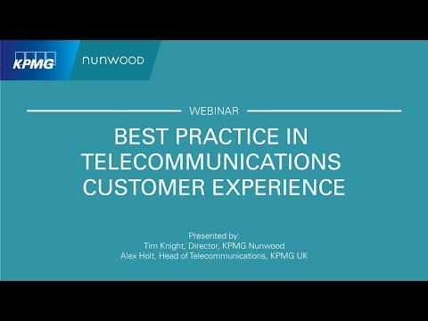Best Practice In Telecommunications Customer Experience