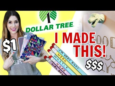 DOLLAR TREE DIY | Back To School & Office Supplies
