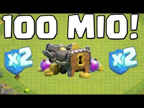 100 MIO GOLD & DOPPELTE CLAN-EP! || CLASH OF CLANS || Let's Play CoC [Deutsch/German HD+]