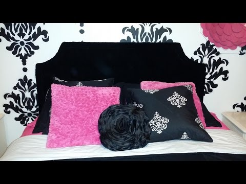 Make Your Own Headboard! Easy Fun Project!