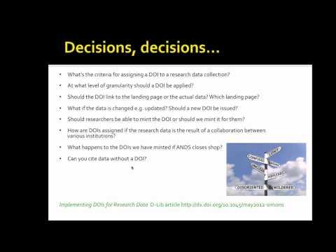 Data Citation - Griffith University's Journey