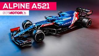 Alpine A521, así es el coche con el que Alonso regresa a la F1 | SoyMotor.com