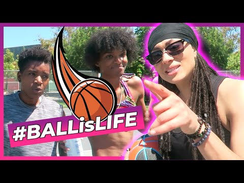 Ball Is Life!! W/ Ari & Jade