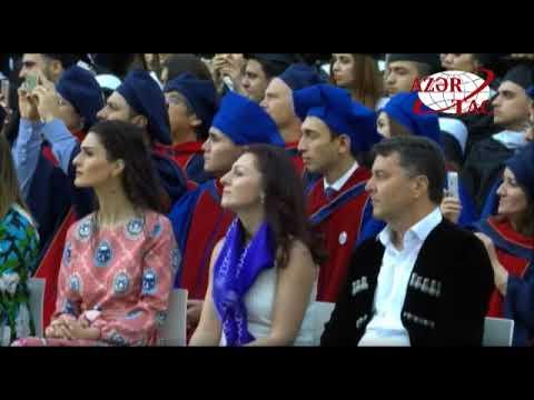 Prezident İlham Əliyev ADA Universitetində keçirilən məzun günündə iştirak edib