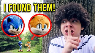 HUNTING FOR SONIC AND TAILS IN REAL LIFE!! *I FOUND THEM*
