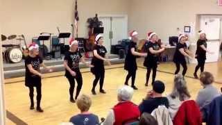 Tappers  Extraordinare 2  Jump Shout Boogie.                   Senior Center Dec 15 2014
