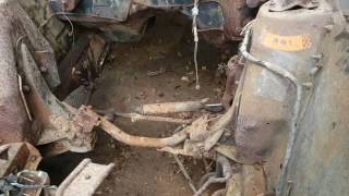 BARN FIND 69 mustang mach 1