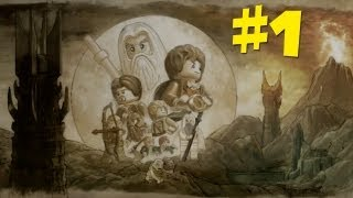 Lego Lord of the Rings Gameplay Walkthrough - (Prologue) Part 1 (PS3/X360/PC)