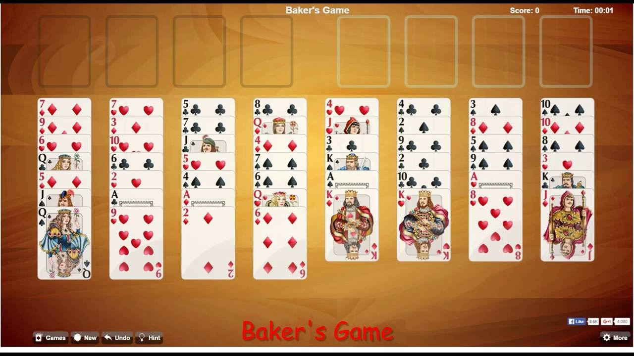 Solitaire Browser