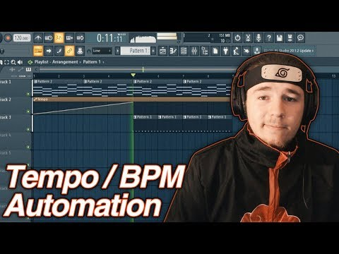 FL Studio 20 - How to Automate the BPM - Tempo Automation Tutorial