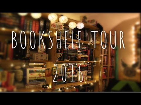 A TOUR OF ALL MY BOOKSHELVES   2016 BOOKSHELF TOUR