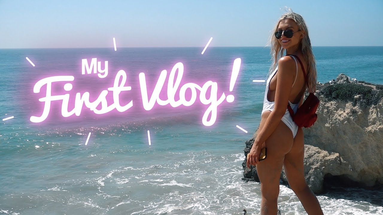 MY FIRST VLOG!! OFF TO LA