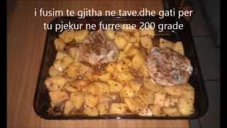 patate furre me mish pule