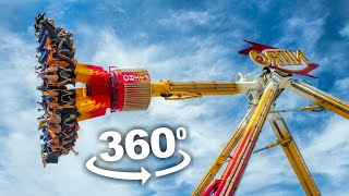 🔴 360° VR VIDEO Looping Amusement Ride for VR BOX Virtual Reality 360 4K