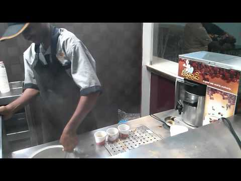 How to make Filter Coffee, Bangalore airport