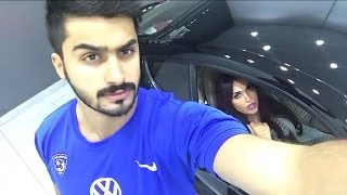 الدكتورة خلود تشتري اغلى سيارة وتجرب سياقتها وتتسابق مع زوجها أمين