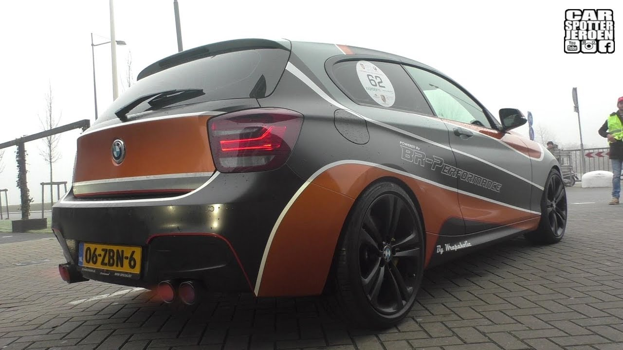 240hp bmw 114i f21 with akrapovic exhaust milltek. Black Bedroom Furniture Sets. Home Design Ideas