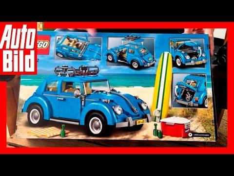 unboxing lego volkswagen k fer beetle set 10252 auto. Black Bedroom Furniture Sets. Home Design Ideas