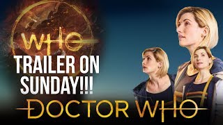 TRAILER THIS SUNDAY!! | Doctor Who Series 11 News