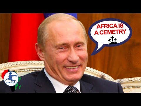 Russian President Putin Allegedly Calls Africa a Cemetery