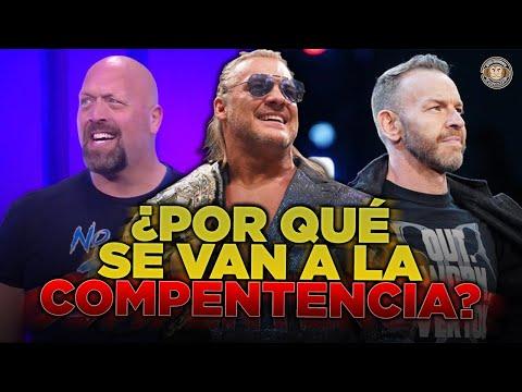 ¿POR QUÉ las LEYENDAS de WWE se VAN a AEW? ft. @Spot Monkeys Wrestling