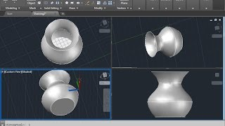 How to use LOFT COMMAND in autocad