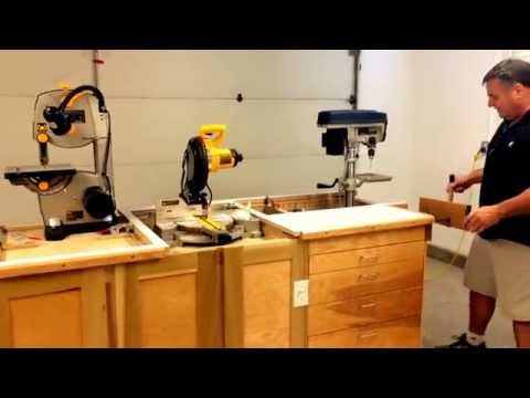 Workbench Ultimate Garage Space Saver Woodworking