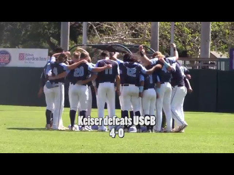 Keiser vs USCB at The Sun Conference Tournament
