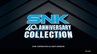 SNK 40th Anniversary Collection: Quick Look (Video Game Video Review)