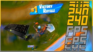 The Most Satisfying Fortnite Gameplay (240hz) (4K)