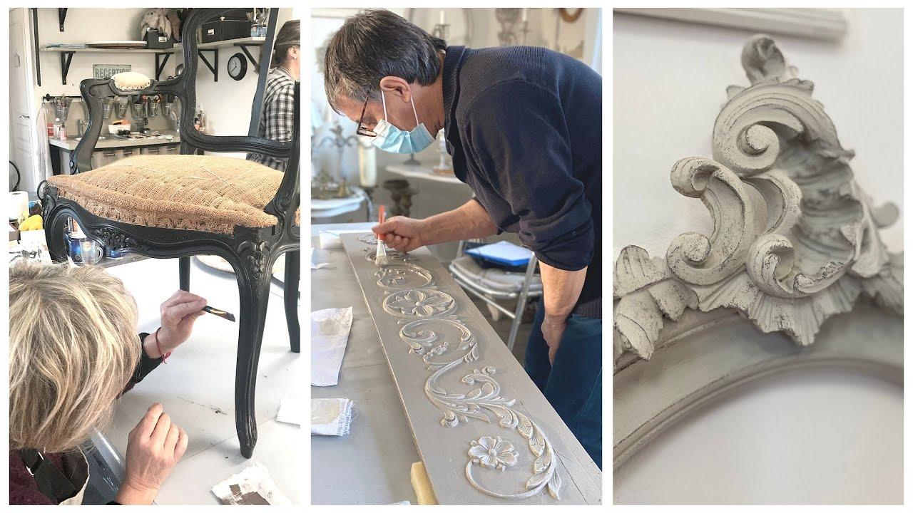 Relooking et patines sur meubles et articles de décoration - Formation niveau 1