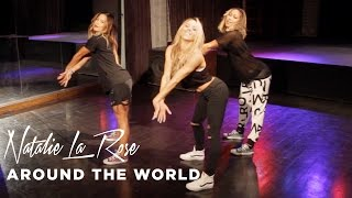 Natalie La Rose - Around The World ft. Fetty Wap (Dance Tutorial)