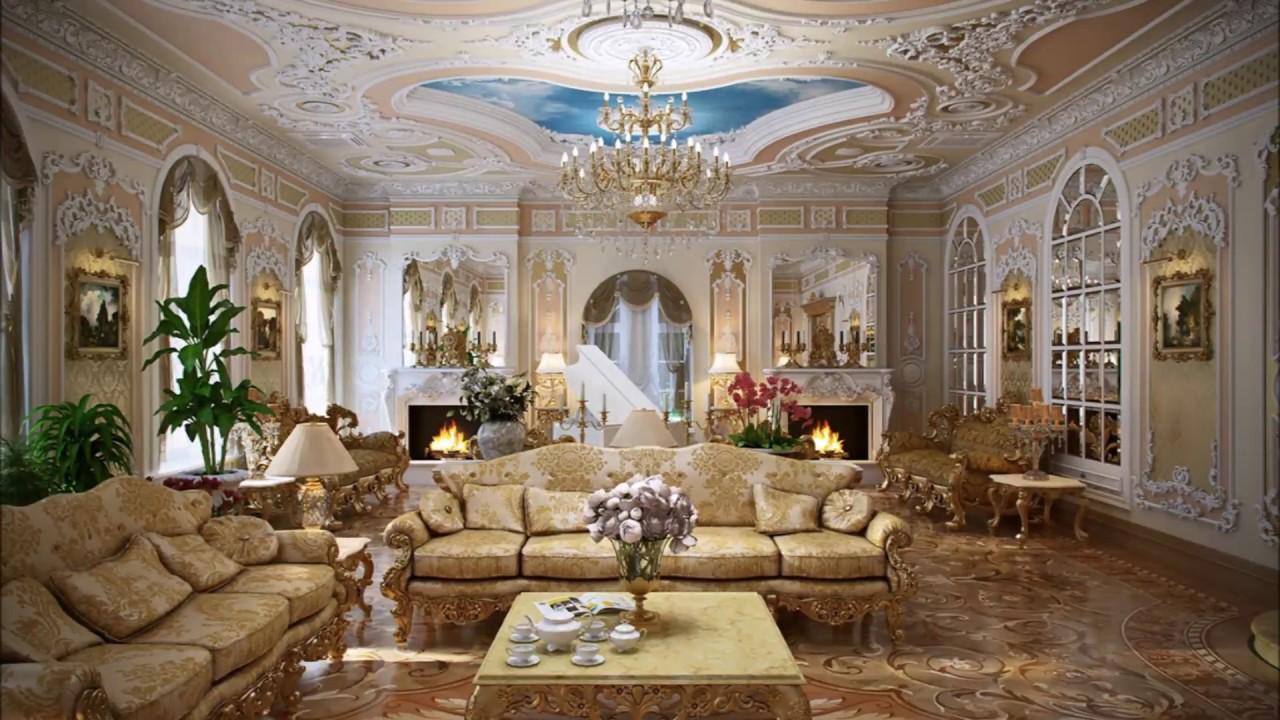 Decoraci n estilo rococ luis xv luis xvi dise o de for Interiores de diseño