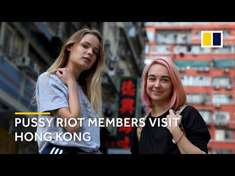 Pussy Riot's members share views on LGBT rights and social movements in Hong Kong
