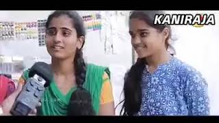 Chennai girls reaction troll to oru aadar love | ultimate kalaai