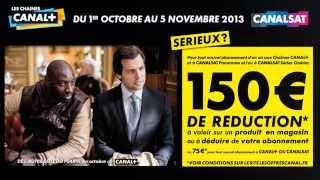 Offre promo Réseau Pro Canalplus/Canalsat octobre 2013