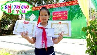 BÉ HUYỀN DỰ LỄ TỔNG KẾT NĂM HỌC | children attending the closing ceremony of the school year