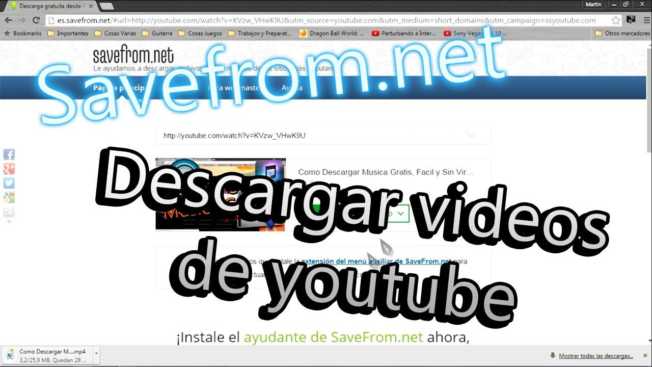 descargar videos de youtube online gratis sin programas hd
